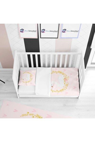Tropikhome Prenses Kuğu Çocuk Yatak Örtüsü