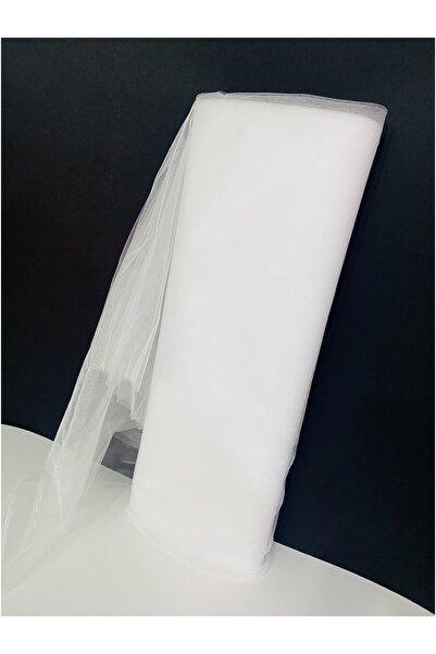 U.B UTKUBABY Beyaz Kristal Tül Bohça Çeyiz Süsleme Boy 1 mt En 3 mt