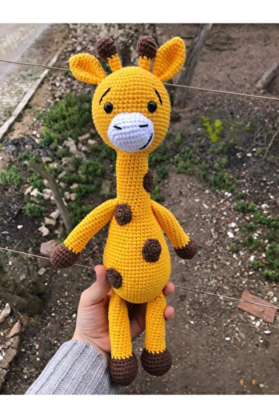 USTAHOBİEVİ Amigurumi Sevimli Zürafa
