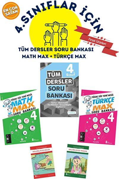 Tudem Yayınları 4.sınıflar Için Tudem Tüm Dersler Soru Bankası + Math Max + Türkçe Max + 2 Hikaye Hediyeli Çok Satan