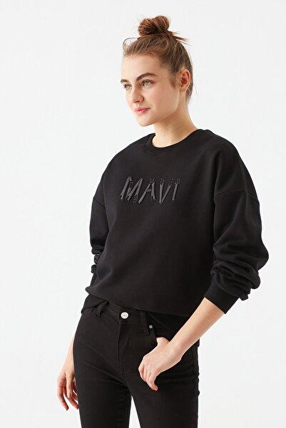 Mavi Kadın Siyah Sweatshirt 1600512-900