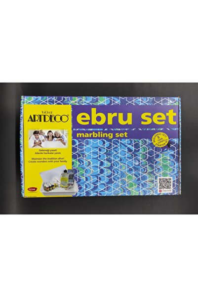 Artdeco 8'li Ebru Başlangıç Seti Y-016 Es-8