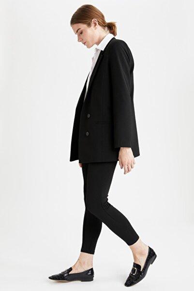 DeFacto Kadın Siyah Slim Fit Basic Tayt N0699AZ.20SP.BK27