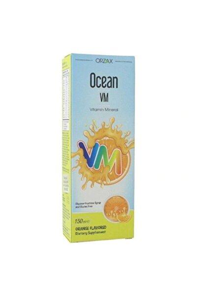 Ocean Vm Portakal Aromalı Şurup 150 ml