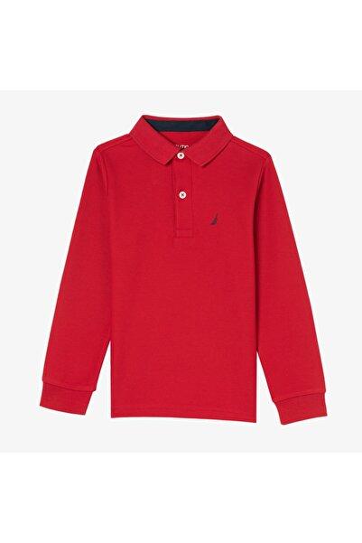 Nautica Nautıca Erkek Çocuk Kırmızı Polo
