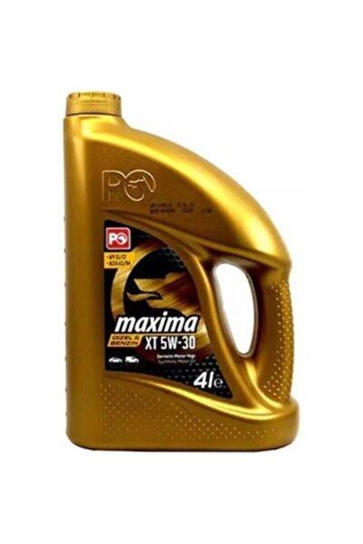 Petrol Ofisi Maxima Xt 5w30 4 Litre 2021 Üretim