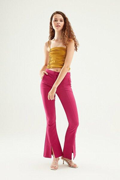 Quzu 70803 Kadın Kanvas Pantolon