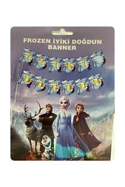 Frozen Iyi Ki Doğdun Banner Temalı