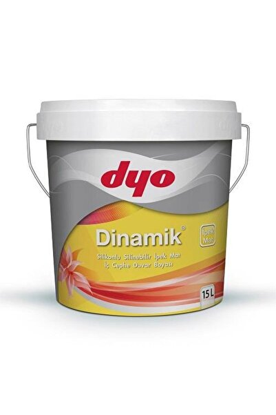 Dyo Dinamik Ipekmat Silikonlu Silinebilir Iç Cephe Duvar Boyası 15 Lt