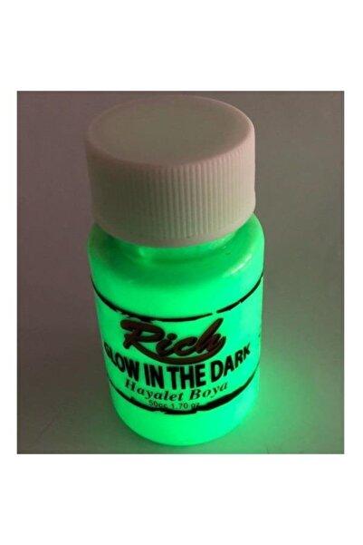 Rich 11294 Yeşil Karanlıkta Parlayan Hayalet Boya 50 Cc