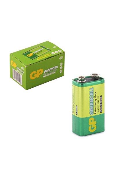 GP Batteries Gp Greencell Extra Heavy Duty 9v Pil 1 Kutu 10 Adet