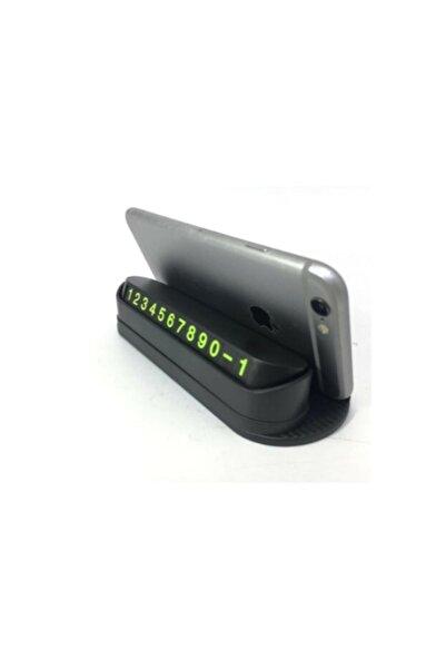 CMT Fosforlu Acılır Kapanabilir Numaratör Ön Torpido Üstü Telefon Numarası Göstergesi Araba