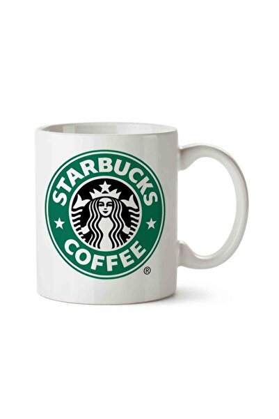 MET DESİGN Starbucks Coffee Porselen Kupa Bardak