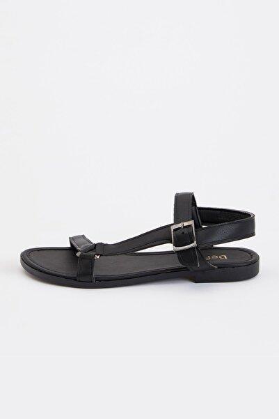 DeFacto Kadın Siyah Fashion Sandalet S5905AZ20SM