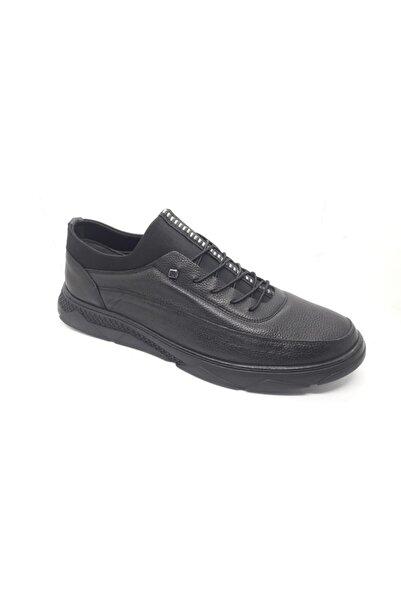 Erdem Özsoylu 10212 Hakiki Deri Siyah Erkek Ayakkabı