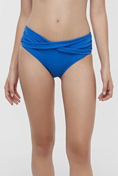Kadın Saks Basic Twist Bikini Altı
