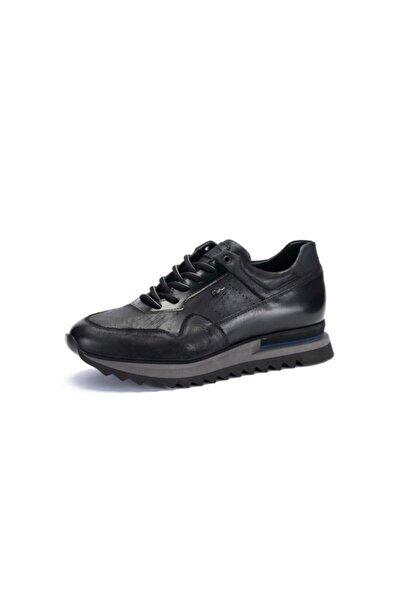 MARCOMEN 14234 Erkek Günlük Eva Taban Casual Nubuk Deri Tarz Ayakkabı Siyah