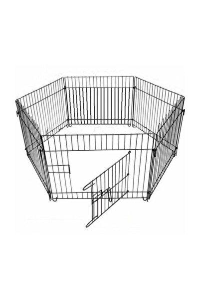 GND Metal Köpek Oyun Alanı Çit Altı Parça 63x63 cm