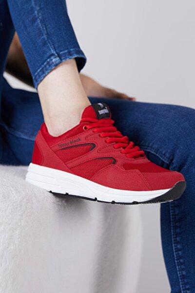 Tonny Black Unısex Spor Ayakkabı Kırmızı 772