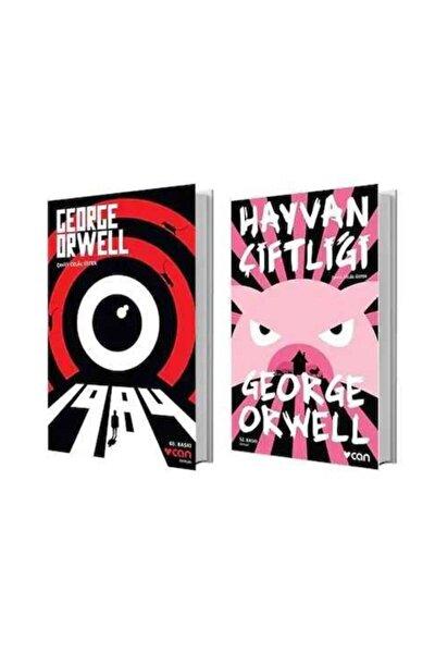 Can Yayınları Hayvan Çiftliği - 1984 - George Orwell 2 Kitap Bir Arada