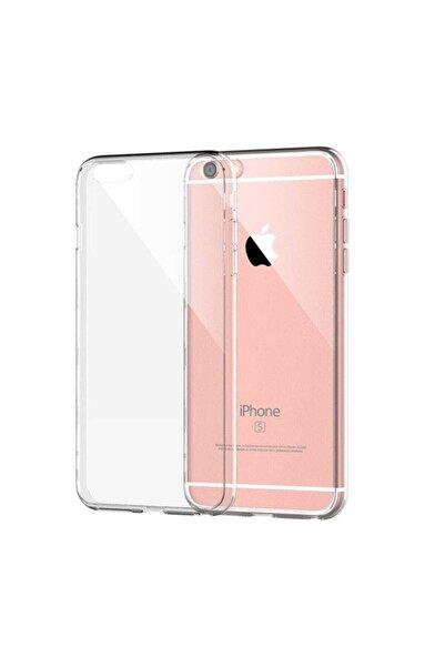 ucuzmi Iphone 6plus - 6s Plus Toz Koruma Tıpalı Şeffaf Silikon Kılıf