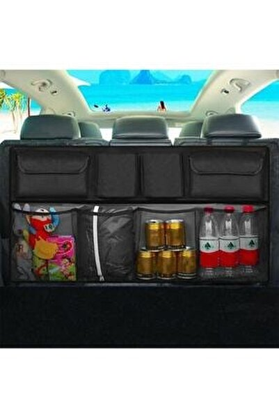 Araba Araç Içi Oto Bagaj Düzenleyici Organizer Çanta Eşya Çantası 8 Cepli
