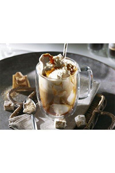 ZWILLING 395001140 Çift Camlı Kulplu Latte 2li Set Bardak