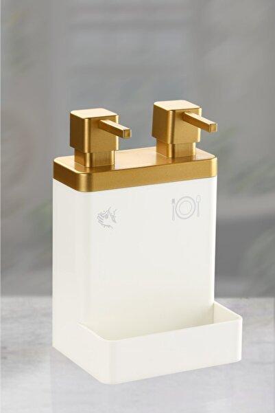Azra Ikili Sıvı Sabun Ve Deterjanlık (Altın)