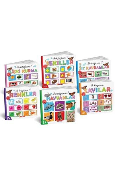 ERKOL OYUNCAK Ilk Kitaplarım 6'lı Eğitim Seti Eğitici Zeka Kartları Oyun Kitapı