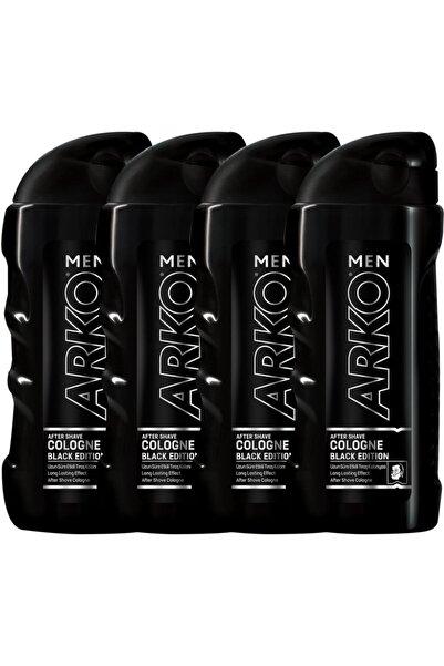 Arko Men 4'Lü Black Edition Tıraş Kolonyası 4X250 ml