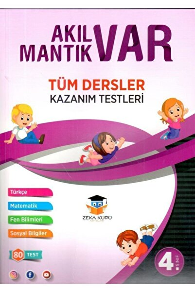 Zeka Küpü Yayınları 4. Sınıf Tüm Dersler Akıl Var Mantık Var