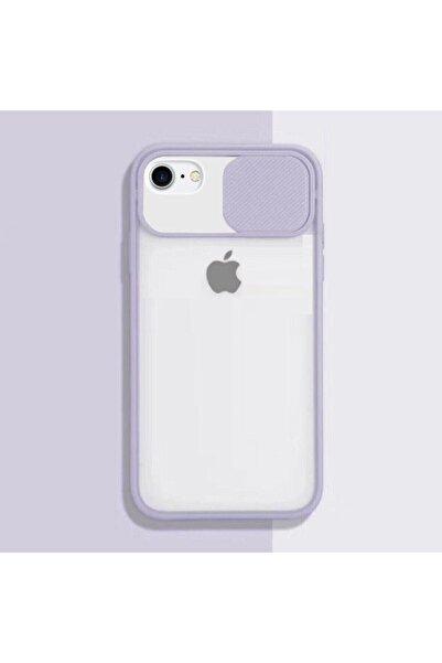 emybox Iphone 6s Plus Uyumlu Slayt Kamera Lens Korumalı Sürgülü Mat Telefon Kılıfı