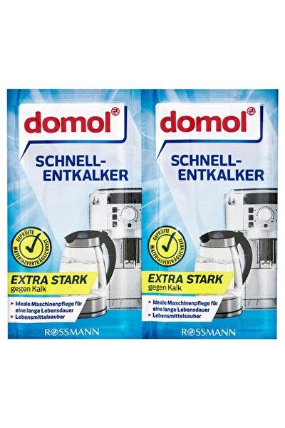 DOMOL Kettle Kahve Makinesi Kireç Çözücü Toz 2'li Paket