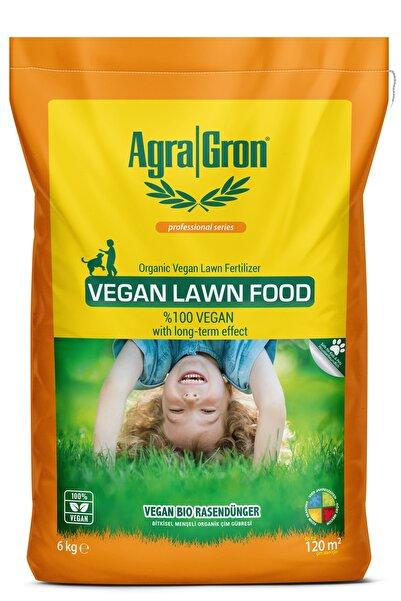 AgraGron Vegan Bitkisel Menşeli Çim Gübresi / Doğal Çim Coşturan Gübre 6 Kg Alman Lisanslı