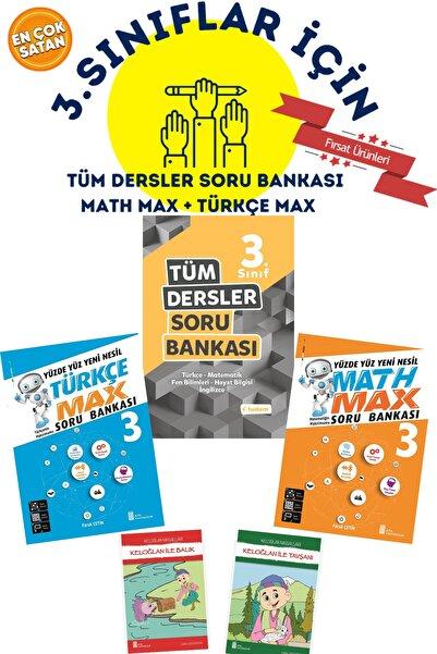 Tudem Yayınları 3.sınıflar Için Tudem Tüm Dersler Soru Bankası + Math Max + Türkçe Max + 2 Hikaye