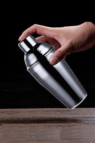 Biradlı Çelik Kokteyl Shaker 700cc