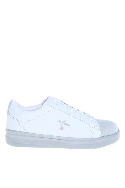 Fabrika Deri Beyaz Kadın Sneaker