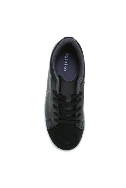 Fabrika Deri Siyah Kadın Sneaker