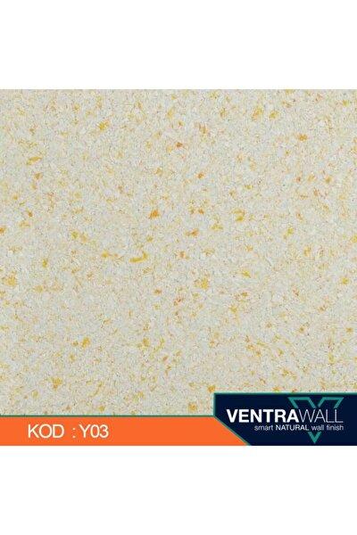 ventrawall Sarı Duvar Boyası Y03 1.5 kg 5m² Canlı Sıva