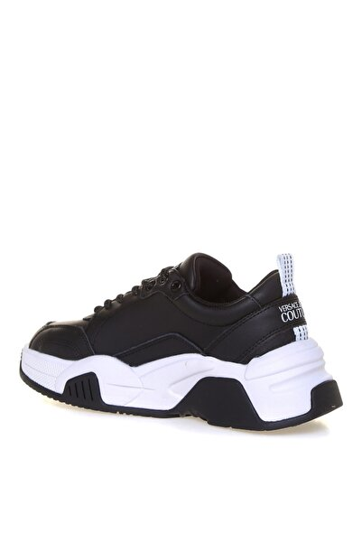VERSACE JEANS Siyah Kauçuk Taban Kadın Sneaker