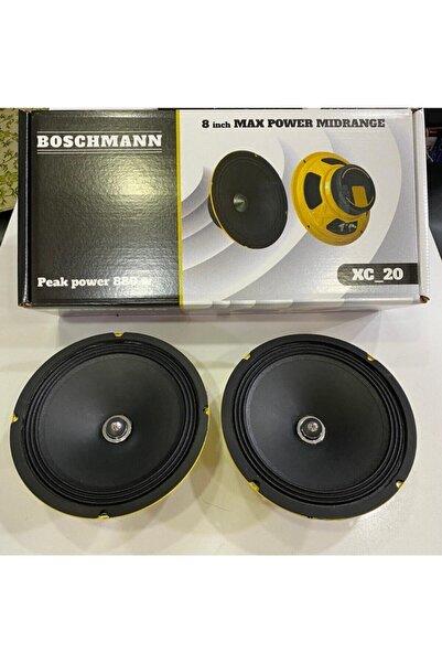 Boschmann 20cm Midrange 880wat Yeni Seri Kurşun Göbekli Iki Adet Kapaklı
