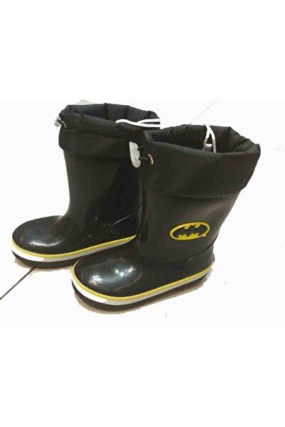 Batman Baskılı Erkek Çocuk Yağmur Botu Su Geçirmez