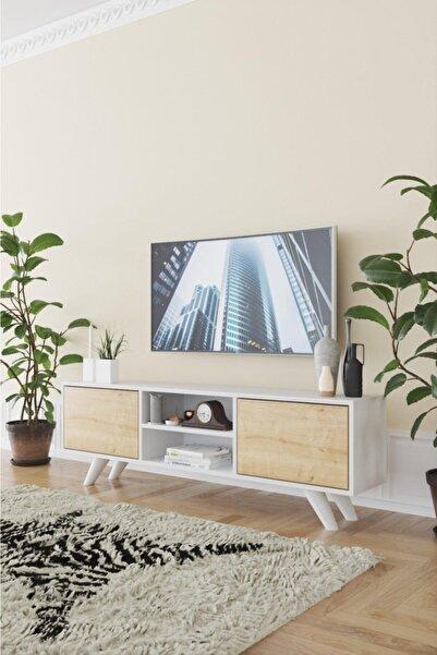 Haus Modüler Haus Romeo Tv Sehpası - Meşe