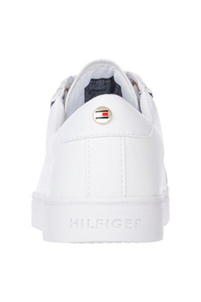 Tommy Hilfiger Fw0fw05910ybr Beyaz Kadın Sneaker