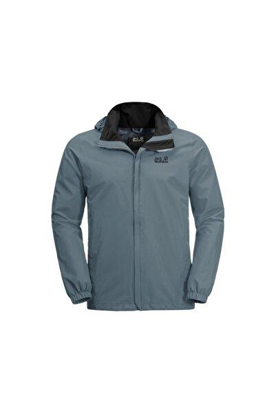 Jack Wolfskin Stormy Point Jacket M Erkek Outdoor Montu 1111141-6098 Mavi