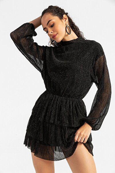 razelli Tül Detaylı Elbise
