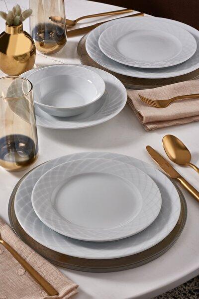 Güral Porselen Güral Alfa 36 Parça 6 Kişilik Yemek Takımı