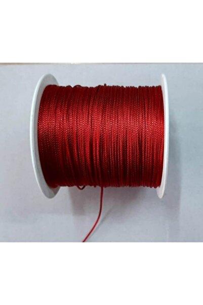 Bemsa Paraşüt Ip 0,8 Mm. Koyu Kırmızı Renk 10 Metre