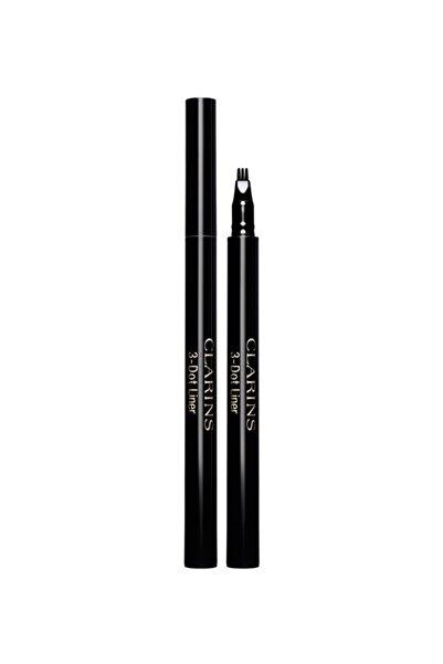Clarins 3-dot Liner 01 - Black Göz Kalemi