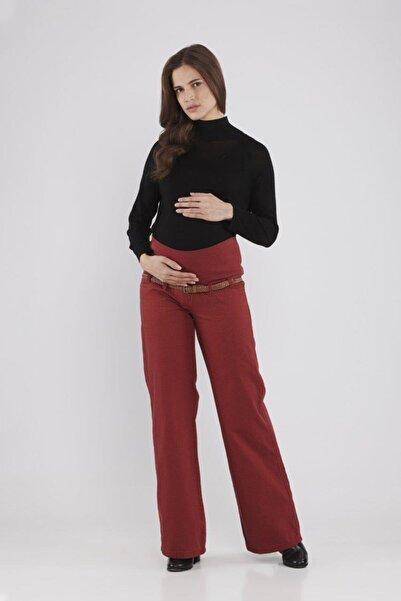 Lyn Devon Lauren Hamile Pantolon S-xl Bordo